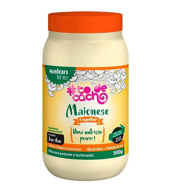 #To de Cacho Maionese Capilar - Nutrição Power - Máscara - 500g