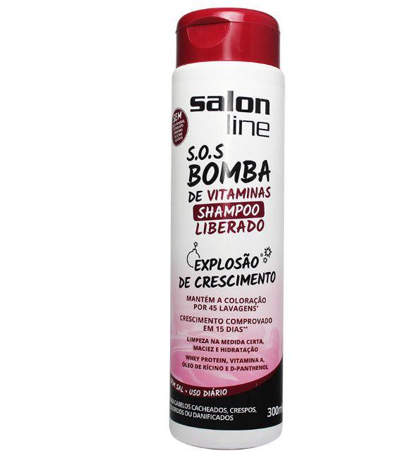 Salon Line - S.O.S. Bomba de Vitaminas - Shampoo Liberado!  - 300ml