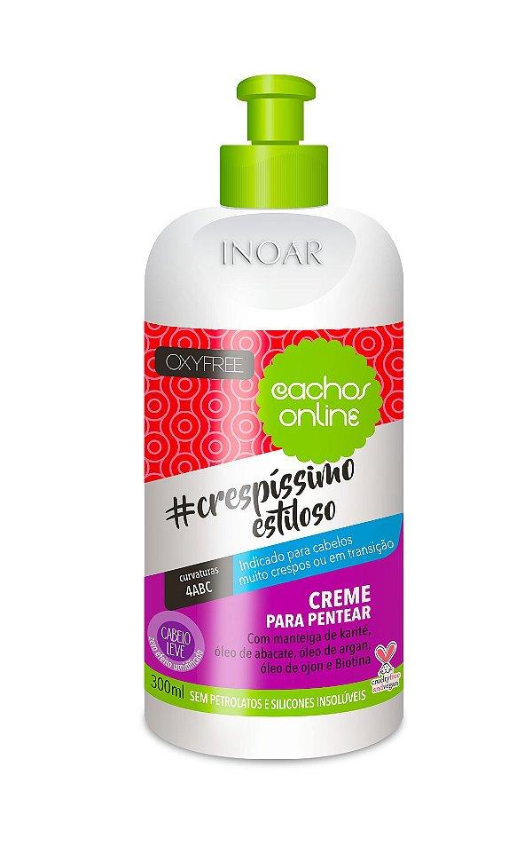 Inoar Creme Para Pentear OxyFree #crespíssimo estiloso - Cachos Online - 300ml