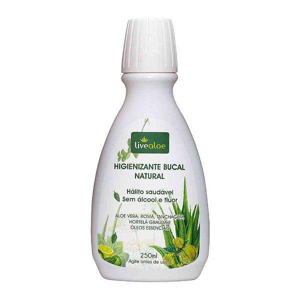 Higienizante Bucal Natural - Hálito Saudável Sem Álcool e Flúor! - LiveAloe -  250ml