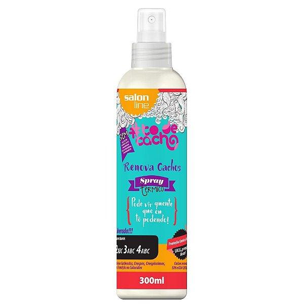 Salon Line #To de Cacho - Spray Térmico Renova Cachos - 300ml