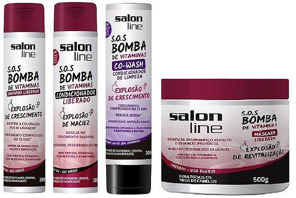 55dd60268 Salon Line S.O.S Bomba de Vitaminas COMBO COMPLETO - Dermabox ...