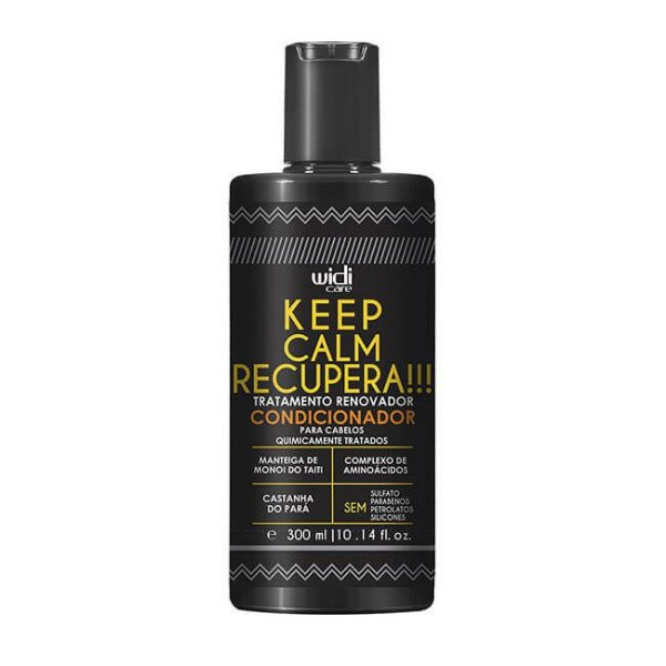 Keep Calm Recupera!!! - Condicionador 300ml - Widi Care