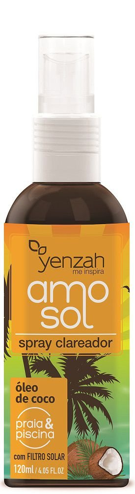 Yenzah AMO Sol - Spray Clareador - 120ml