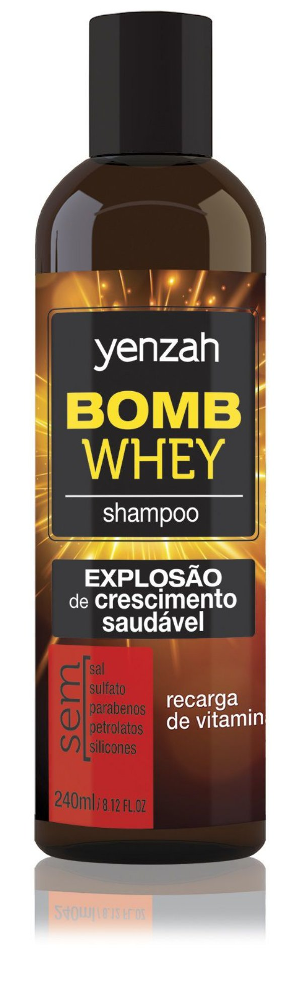 Yenzah Bomb Cream Whey - Shampoo - 240ml