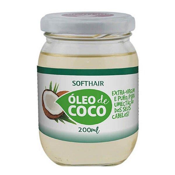 Óleo de Coco Extravirgem 200ml - SoftHair