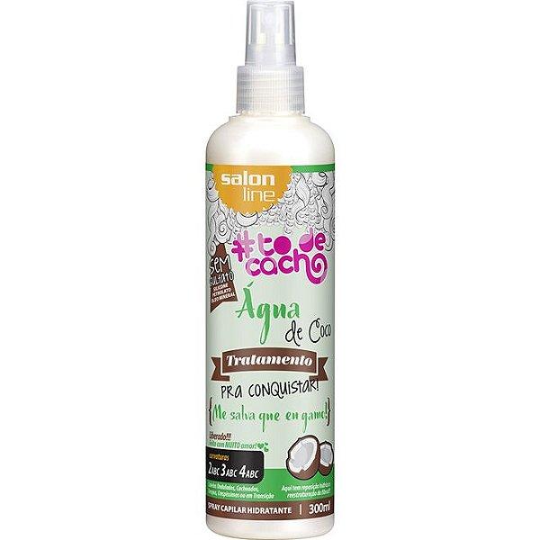 Salon Line #To de Cacho Água de Coco Spray Hidratante - Tratamento pra Conquistar - 300ml