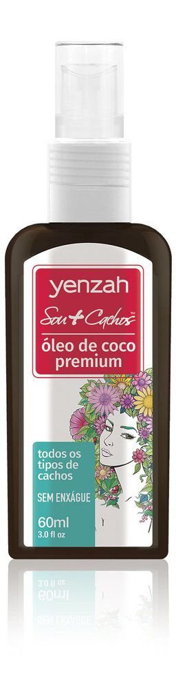 Yenzah Sou+Cachos - Óleo de Coco Premium - 60ml