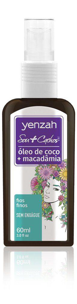 Yenzah Sou+Cachos - Óleo de Coco + Macadamia - 60ml