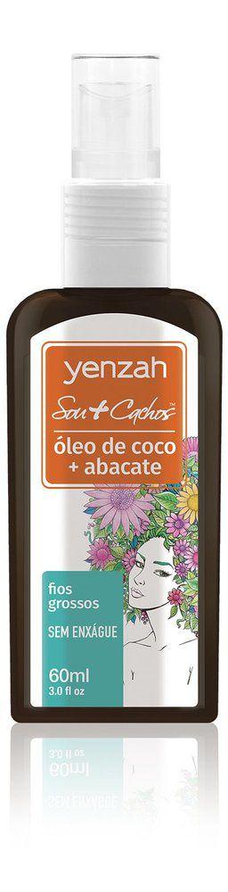 Yenzah Sou+Cachos - Óleo de Coco + Abacate - 60ml