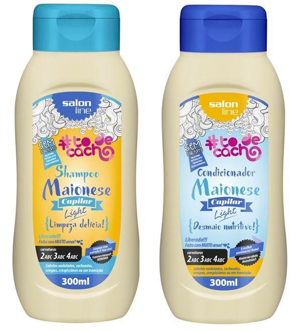 COMBO Salon Line #To de Cacho Maionese Duo - Shampoo 300ml + Condicionador 300ml