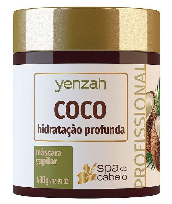 Yenzah Spa do Cabelo - Máscara Capilar Coco 480g
