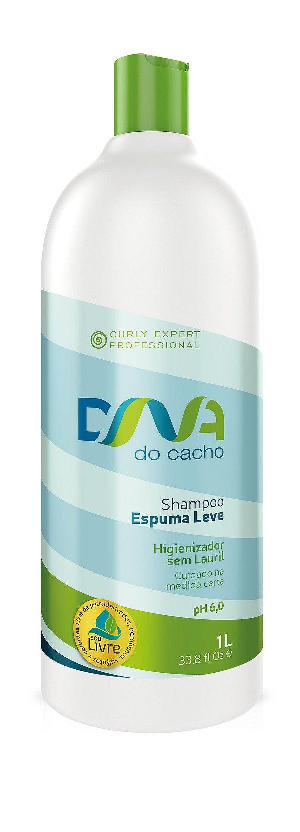 DNA do Cacho Shampoo Espuma Leve 1L - Salon Embelleze