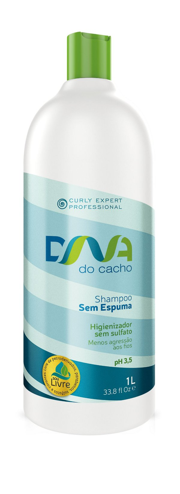 DNA do Cacho Shampoo Sem Espuma 1L - Salon Embelleze