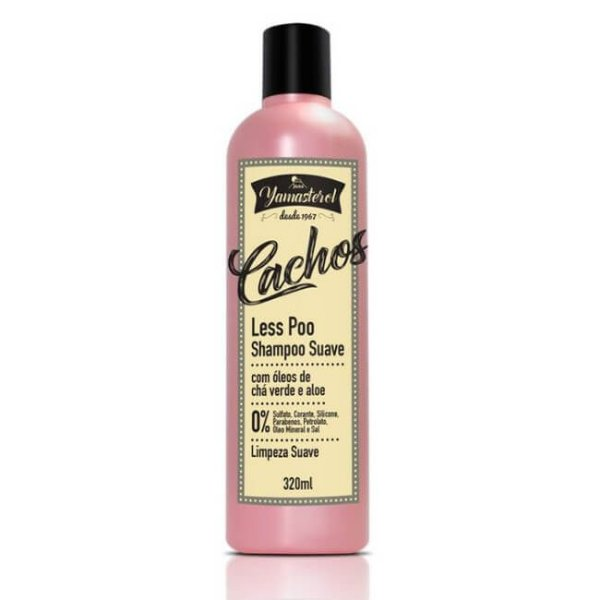 Shampoo Suave Less Poo 320ml - Yamasterol Cachos!