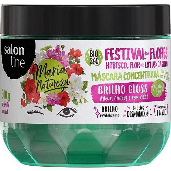 Salon Line Máscara Festival Das Flores - Maria Natureza - 300g
