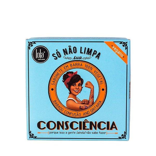 Sabonete em Barra Vegano Água de Arroz & Jasmim 100g - Lola Cosmetics