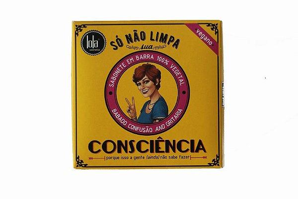 Sabonete em Barra Vegano Maçã & Canela 130g - Lola Cosmetics