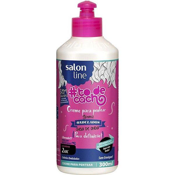 Salon Line Creme para Pentear Cheia de Onda - Pura Definição #Todecacho - 300ml