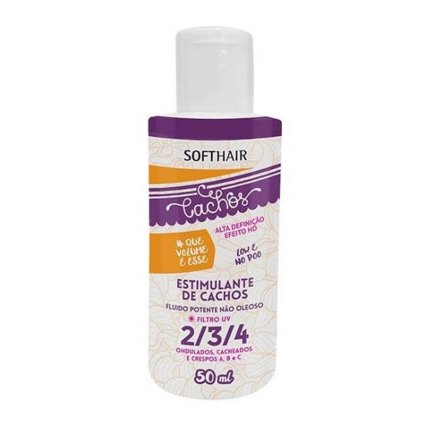 Estimulante de Cachos #Que Volume é Esse - Soft Hair - 50ml