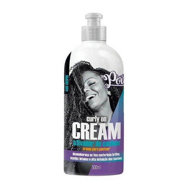 Creme para Pentear Curly on Cream 500ml - Soul Power