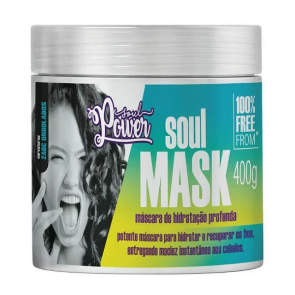 Máscara Soul Mask 400g - Soul Power