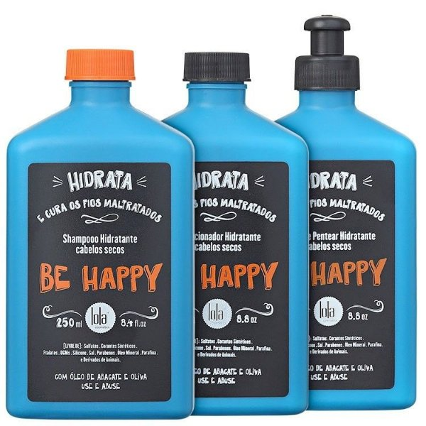 Trio Be Happy 250ml - Secos