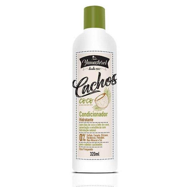 Condicionador Hidratante 320ml - Yamasterol Cachos Coco