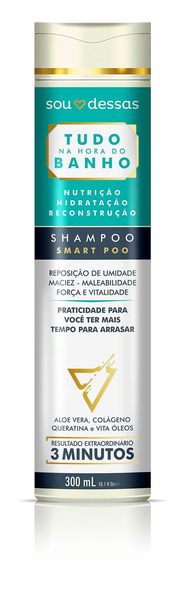 Shampoo Smart Poo Tudo na Hora do Banho 300ml - Sou Dessas