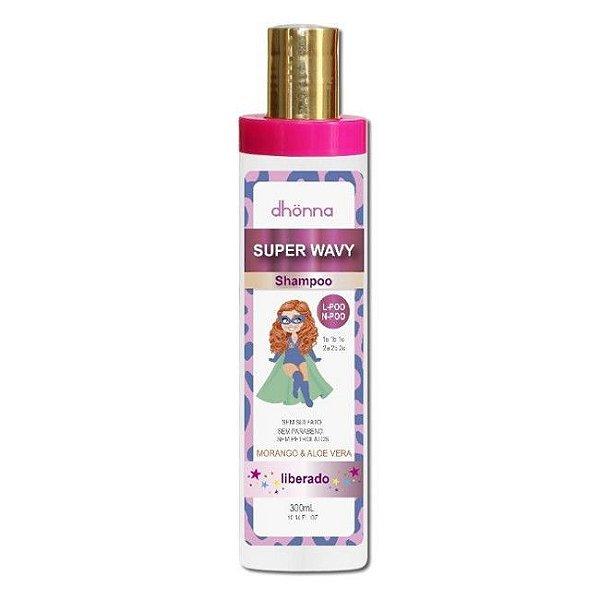 Shampoo Infantil Super Wavy 300ml - Dhönna