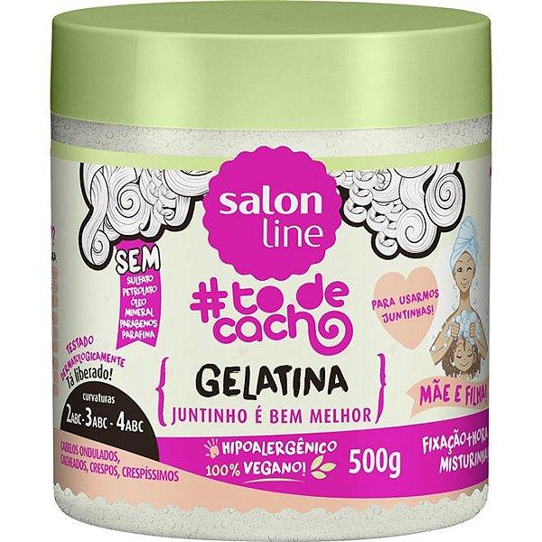 Gelatina #To de Cacho Mãe e Filha 550g - Salon Line