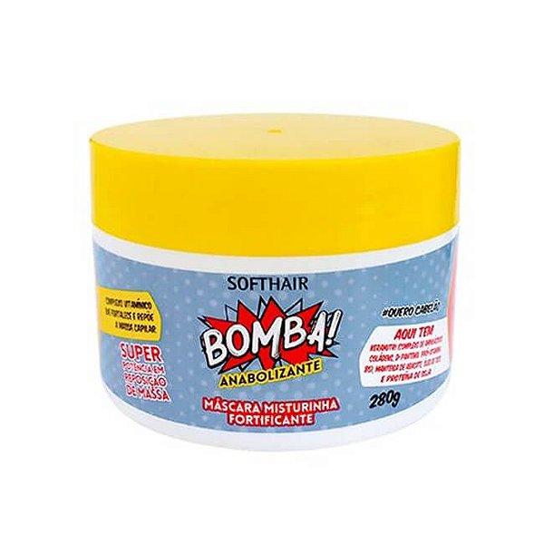 Máscara Misturinha Fortificante Bomba! Anabolizante - Soft Hair - 280g