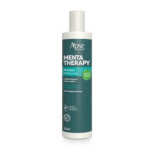 Shampoo Refrescante Menta Therapy 300ml - Apse
