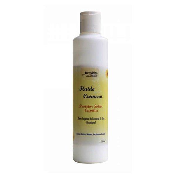 Fluido Cremoso - Protetor Solar Capilar 320 ml - BetoBita