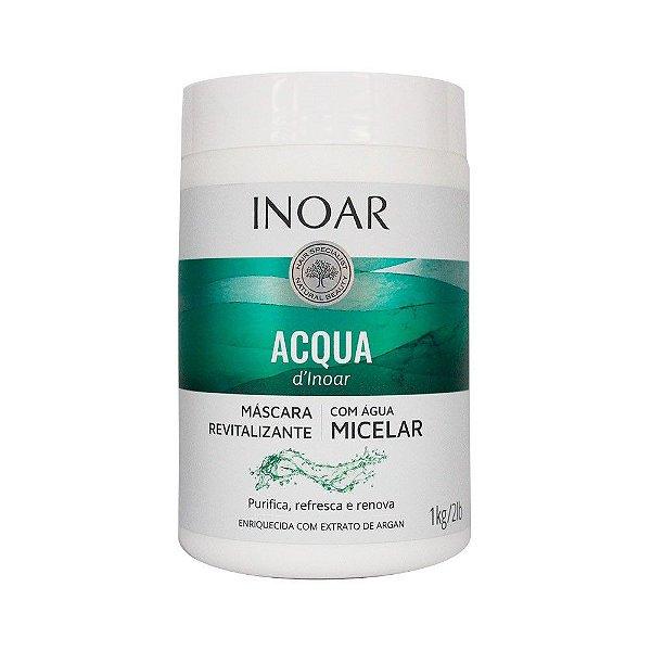 Acqua d'Inoar Máscara Revitalizante com Água Micelar 1kg - Inoar