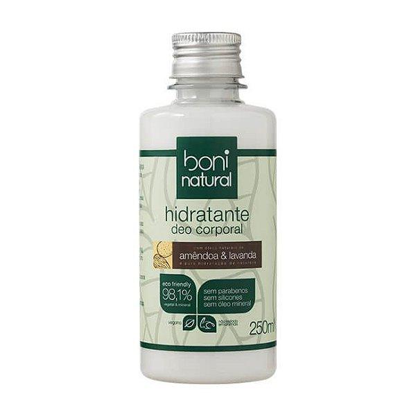 Hidratante Deo Corporal Amêndoa e Lavanda 250ml - Boni Natural