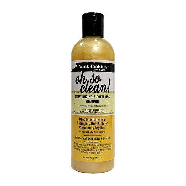 Oh So Clean! Shampoo Hidratante e Amaciante 355ml - Aunt Jackie's