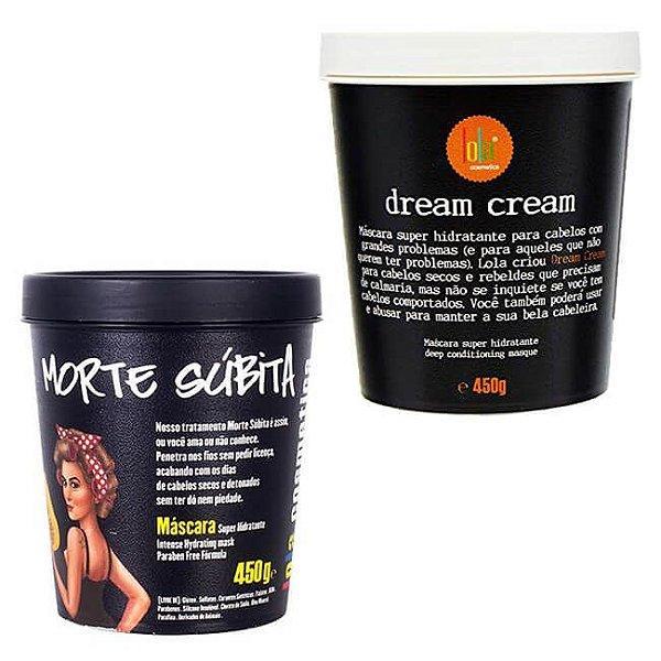 COMBO Máscara Dream Cream 450g + Máscara Morte Súbita 450g - Lola Cosmetics