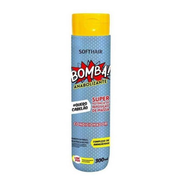 Condicionador Bomba Anabolizante 300ml - Soft Hair