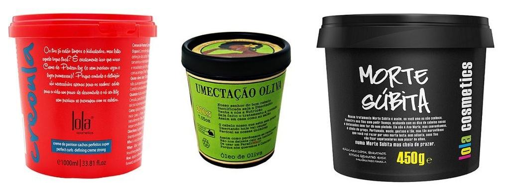 COMBO Creoula Creme de Pentear e Co-wash 930g + Umectação Oliva 200g + Máscara Morte Súbita 450g