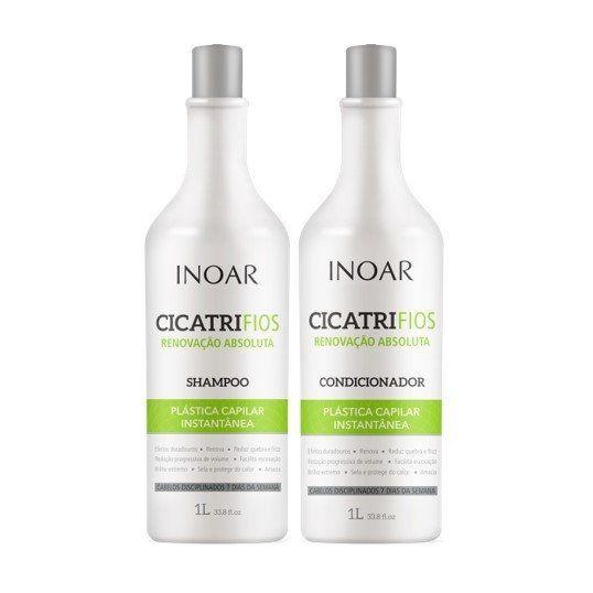 Inoar - CicatriFios Kit Shampoo 1L + Condicionador 1L