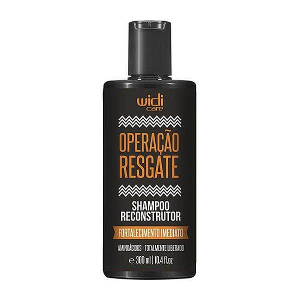 Operação Resgate - Shampoo Reconstrutor 300ml - Widi Care