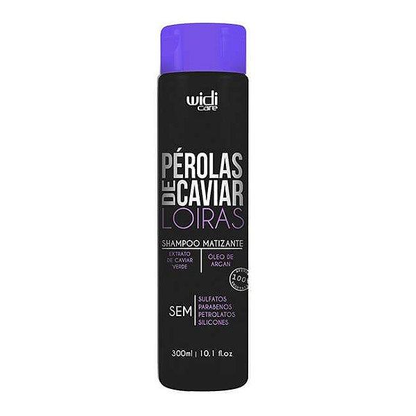 Shampoo Matizante Pérolas de Caviar Loiras 300ml - Widi Care