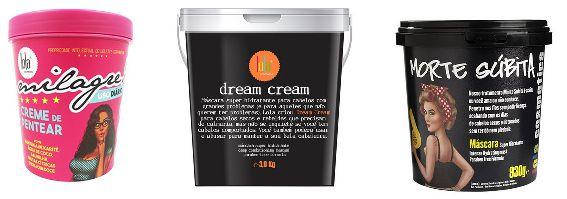 COMBO MEGA Dream Cream 3kg + Milagre 450g + Morte Súbita 930g