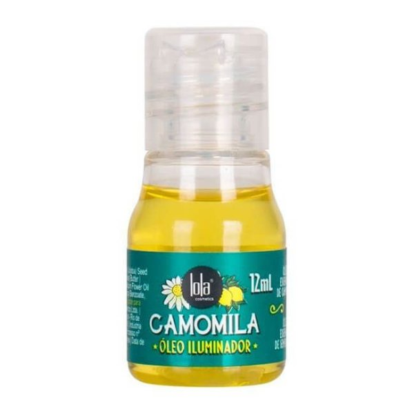 Óleo Iluminador Camomila 12ml - Lola Cosmetics