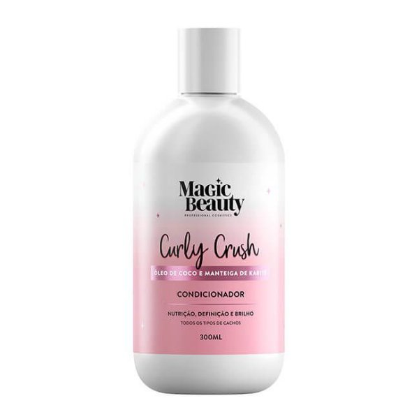 Condicionador Curly Crush 300ml - Magic Beauty