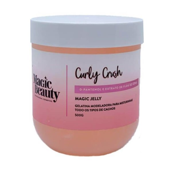 Gelatina Modeladora Magic Jelly 500g - Magic Beauty