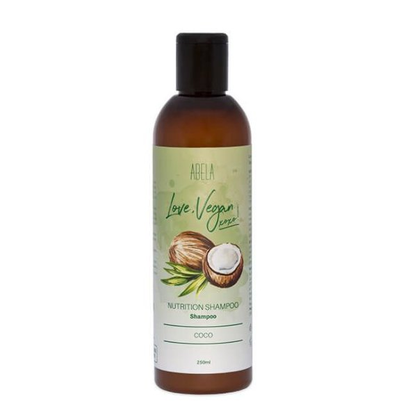 Shampoo Love, Vegan Coco 250ml - Abela