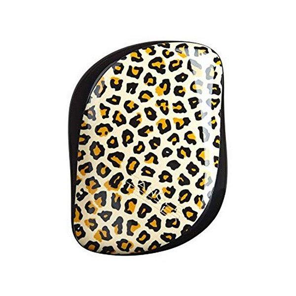 Escova Tangle Teezer Leopard Print - Compact Styler
