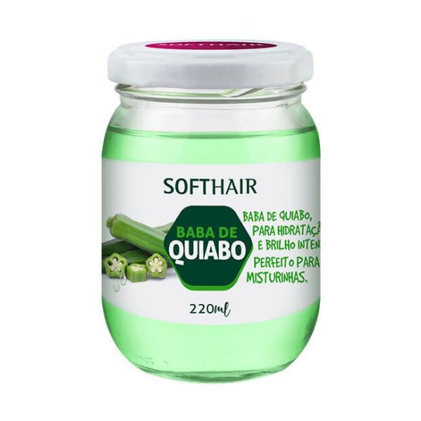 Baba de Quiabo 220ml - Soft Hair